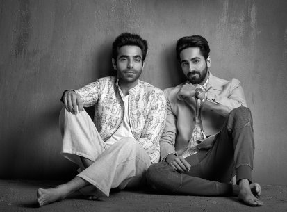 APARSHAKTI AND AYUSHMAAN KHURANA